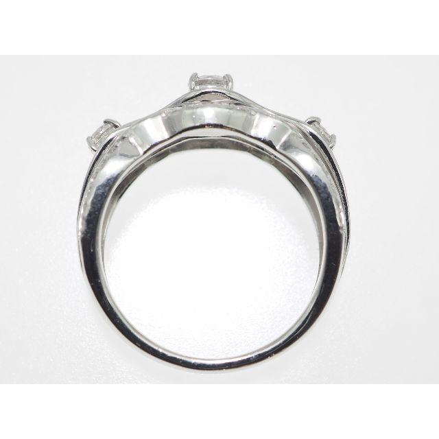 【0.580Cts】PT900ダイヤモンドリング【サイズ直し無料】 レディースのアクセサリー(リング(指輪))の商品写真