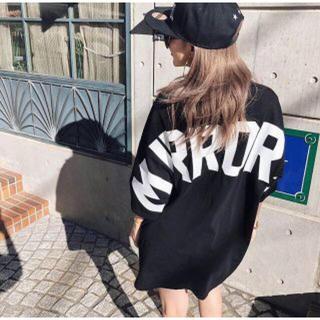 ジェイダ(GYDA)の完売商品 MIRROR9 ミラーナイン アイコンTシャツ ブラック 美品(Tシャツ(半袖/袖なし))