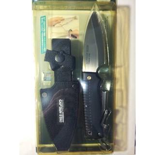 CAPTAIN STAG - (未使用☆新品)キャプテン スタッグ 万能出刃ツールナイフ(シース付)