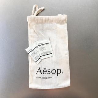 イソップ(Aesop)のAesop 巾着【サンプル付】(ショップ袋)