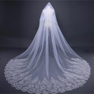 ヴェラウォン(Vera Wang)のウェディングベール ロングベール(ヘッドドレス/ドレス)