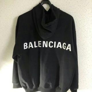 Balenciaga - バレンシアガ バックロゴフーディー