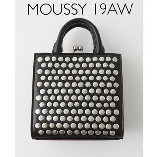 マウジー(moussy)のMOUSSY 即完売 スタッズ スクエアショルダーバッグ(ショルダーバッグ)