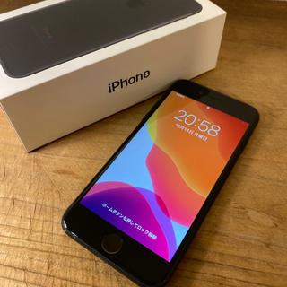 Apple - iPhone 7 Black 128 GB SIMフリー Black