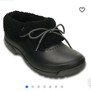 クロックス(crocs)のクロックス w9 黒25(ブーツ)