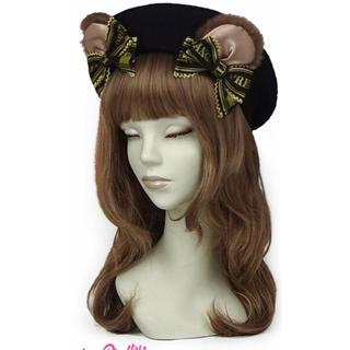 Angelic Pretty - dream ribbon bear ベレー