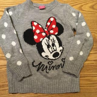 Disney - ミニーちゃん セーター 130