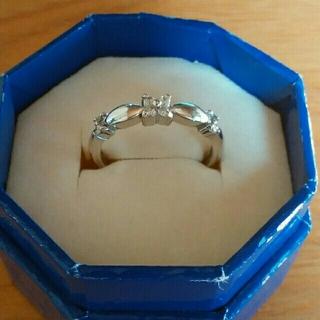 ヴァンドームアオヤマ(Vendome Aoyama)のヴァンドーム青山 ダイヤモンドxホワイトゴールド リング 7号(リング(指輪))
