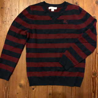 バーバリー(BURBERRY)のBurberry 100%カシミア セーター 128(ニット)