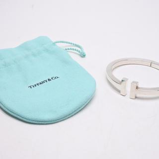 ティファニー(Tiffany & Co.)のTIFFANY &GO ティファニー Tスクエア ブレスレット バングルシルバー(ブレスレット)