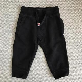 ネクスト(NEXT)のNEXT スウェットパンツ ジョガー 9-12m80cm ブラック(パンツ)