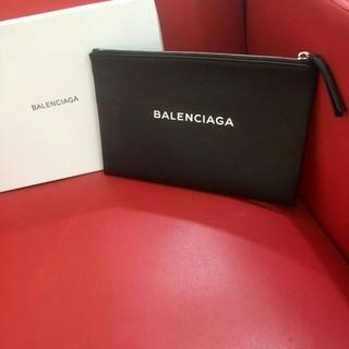 Balenciaga - バレンシアガ レザー クラッチバッグ セカンドバッグ ブラック