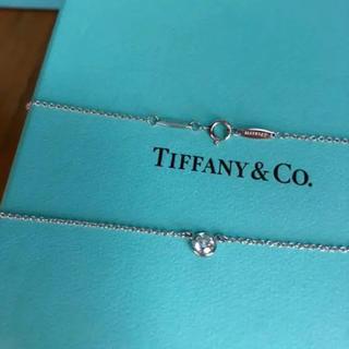 Tiffany & Co. - Tiffany バイザヤードネックレス0.22ct