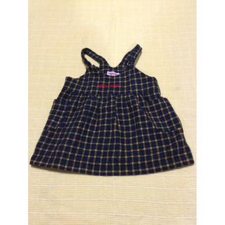 mikihouse - チエコサク☆ジャンパースカート☆100cm