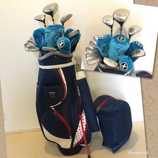 人気‼️【良美品】レディース ゴルフクラブセット/ゴルフセット/キャディバッグ