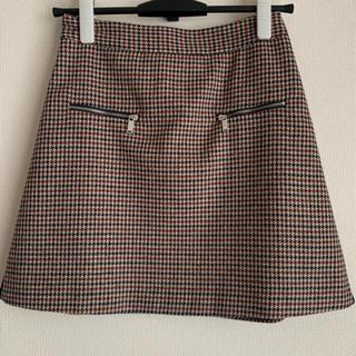 ZARA - ZARA チェック スカート