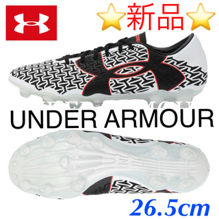 アンダーアーマー(UNDER ARMOUR)の⭐️新品未使用⭐アンダー アーマー サッカー スパイク(シューズ)
