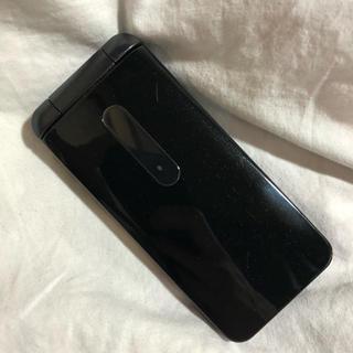 au - 【美品】au GRATINA 4G KYF31(ブラック)【ガラケー】携帯電話