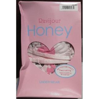 ラヴィジュール(Ravijour)のRavijour Honey Over the twelve:天使柄ピンク(ブラ&ショーツセット)