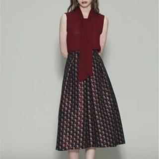 GRACE CONTINENTAL - グレースコンチネンタル ジャガード  スカート