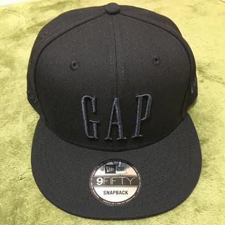 ニューエラー(NEW ERA)のGAP ニューエラ 50周年記念 ブラック NEW ERA  9FIFTY(キャップ)
