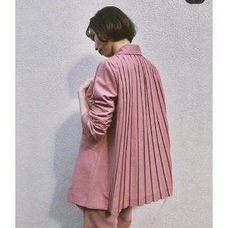 Ameri VINTAGE - Ameri【タグ付新品】ジャケット ピンク バックプリーツ
