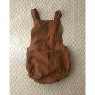 Caramel baby&child  - ロンパース ジャンプスーツ サロペット 韓国 韓国子供服 綿 麻