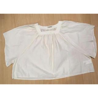サマンサモスモス(SM2)のSamansa Mos2 トップス フリーサイズ(カットソー(半袖/袖なし))