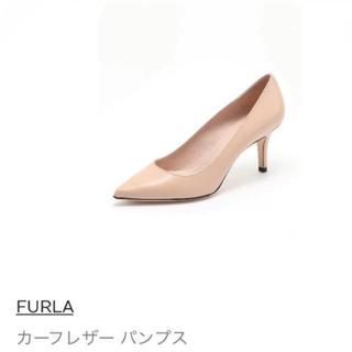 フルラ(Furla)のFURLA*新品未使用*カーフレザーパンプス(ハイヒール/パンプス)