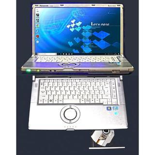 Panasonic - Let's noteプレミアムエディション/i7/8G/SSD/Win10
