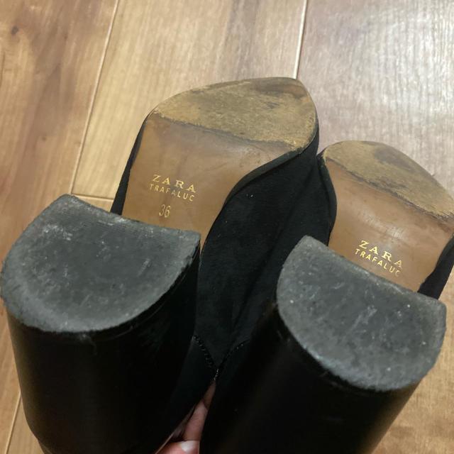 ZARA(ザラ)のZARA サイドカットブーツ レディースの靴/シューズ(ブーツ)の商品写真