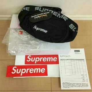 Supreme - Supreme 18ss Waist Bag Black 黒