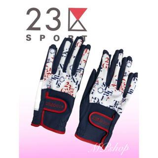 23区ゴルフ ネイルカット グローブ 手袋 Mサイズ