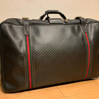 グッチ(Gucci)のGUCCI ヴィンテージスーツケース(トラベルバッグ/スーツケース)