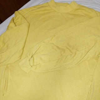 ジーユー(GU)のオーバーロンティ(Tシャツ(長袖/七分))