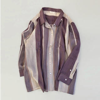 TODAYFUL - TODAYFUL Sheer Stripe Shirts シアーストライプシャツ