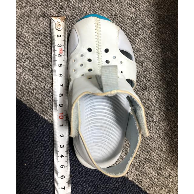 NIKE(ナイキ)のナイキ サンレイプロテクト  サンダル  キッズ/ベビー/マタニティのベビー靴/シューズ(~14cm)(サンダル)の商品写真