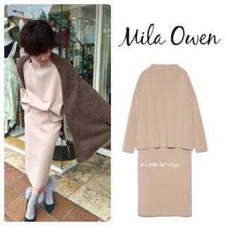 Mila Owen - ミラオーウェン♡ボドルネックニットセットアップ