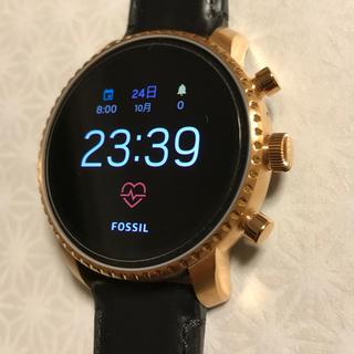 FOSSIL フォッシル スマートウォッチ  値下げ♪ Gen4 GPS機能付 (腕時計(デジタル))