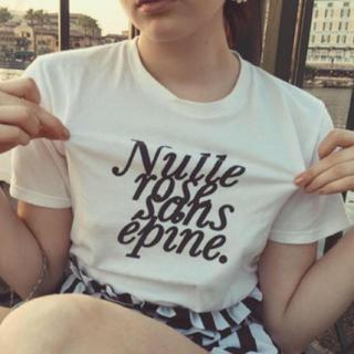 Lochie - epine Tシャツ ホワイト