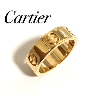 カルティエ(Cartier)のCartier カルティエ ラブリング K18 YG イエローゴールド 48号(リング(指輪))