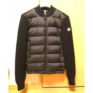 MONCLER - モンクレール MONCLER キッズ 14a ネイビー ニットダウン