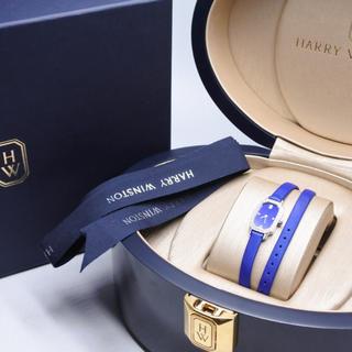ハリーウィンストン(HARRY WINSTON)のハリーウィンストン エメラルド レディース 時計 ホワイトゴールド K18WG(腕時計)