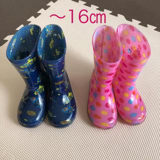 Disney - 【16センチ】長靴 レインブーツ 男の子 女の子*バズ デイジー