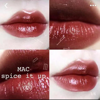 MAC - スパイスイットアップ 大人気カラー MAC リップ 口紅