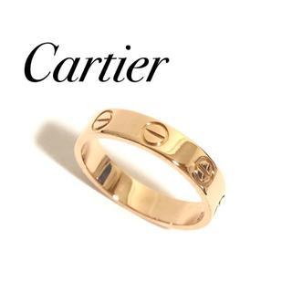 カルティエ(Cartier)のカルティエ ミニラブリング PG ピンクゴールド 48号 保証書(リング(指輪))