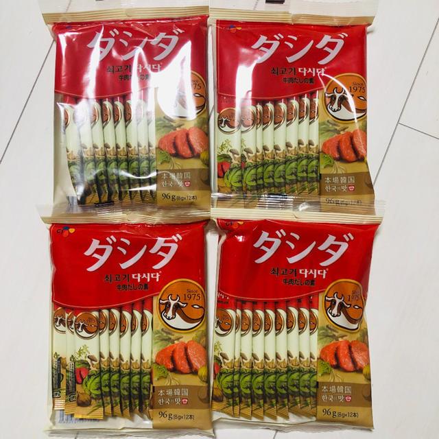 コストコ(コストコ)のダシダ 牛肉だしの素 4袋 8g×48本 送料込 食品/飲料/酒の食品(調味料)の商品写真