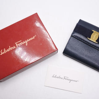 サルヴァトーレフェラガモ(Salvatore Ferragamo)のSalvatoreFerragamo サルバトーレフェラガモ コンパクト 財布(財布)