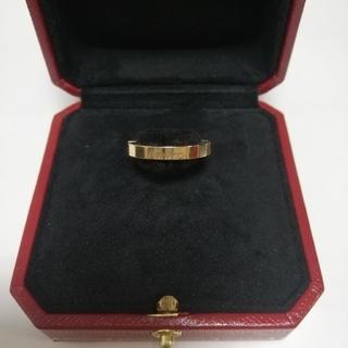 カルティエ(Cartier)のカルティエラニエール K18YG 指輪(リング(指輪))