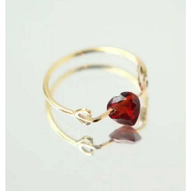 H.P.FRANCE(アッシュペーフランス)のmonaka jewellery ズキュンリング #11 レディースのアクセサリー(リング(指輪))の商品写真